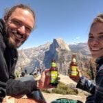 Frank and Marilia at Half Dome